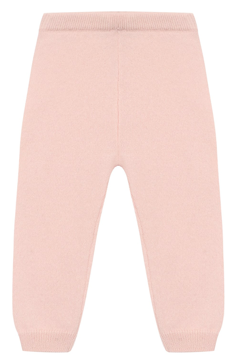Детские кашемировые джоггеры OSCAR ET VALENTINE розового цвета, арт. LEG01S | Фото 1
