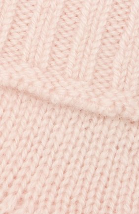 Детские кашемировые носки OSCAR ET VALENTINE розового цвета, арт. CH02 | Фото 2
