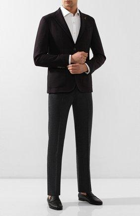 Мужские кожаные пенни-лоферы BARRETT темно-зеленого цвета, арт. 171U064.42/CERV0 ASP0RTABILE | Фото 2