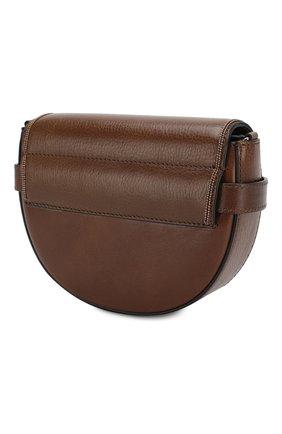 Детская кожаная сумка BRUNELLO CUCINELLI коричневого цвета, арт. BBSCD2020 | Фото 2