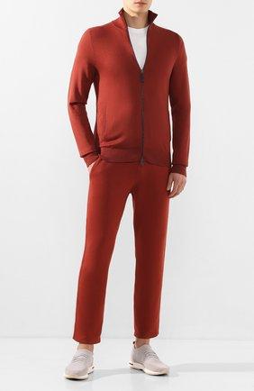 Мужские текстильные кроссовки 360 lp walk LORO PIANA бежевого цвета, арт. FAI1540 | Фото 2