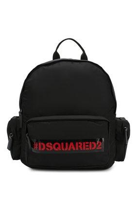 Детская рюкзак DSQUARED2 черного цвета, арт. DQ0439-D00PF | Фото 1