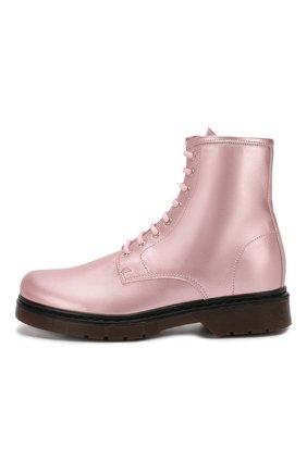 Кожаные ботинки   Фото №2