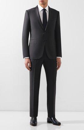 Мужские кожаные оксфорды BERLUTI темно-синего цвета, арт. S4976-002 | Фото 2