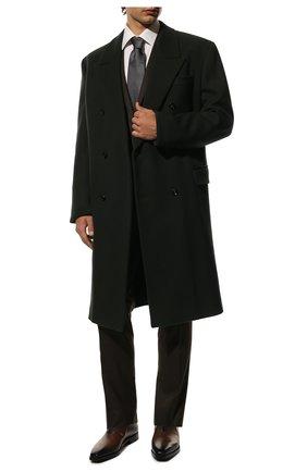 Мужские кожаные оксфорды BERLUTI коричневого цвета, арт. S4504-006 | Фото 2