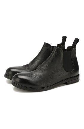 Мужские кожаные челси MARSELL черного цвета, арт. MM2440/PELLE V0L0NATA | Фото 1