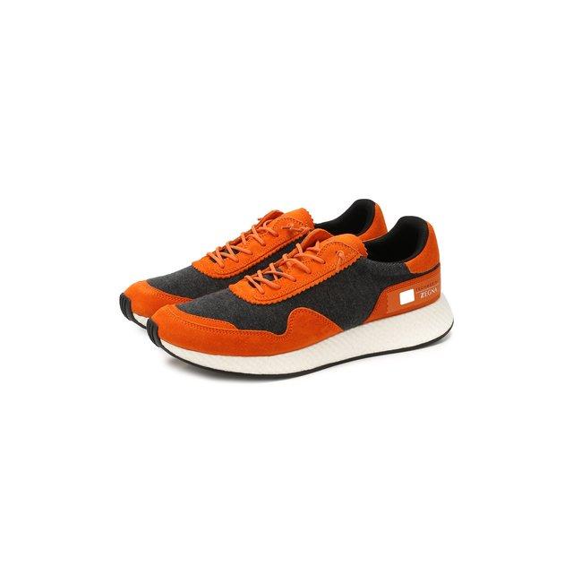 Комбинированные кроссовки Z Zegna — Комбинированные кроссовки
