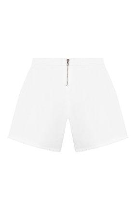 Детские джинсовые шорты BALMAIN белого цвета, арт. 6M6169/MD900/4-10 | Фото 2