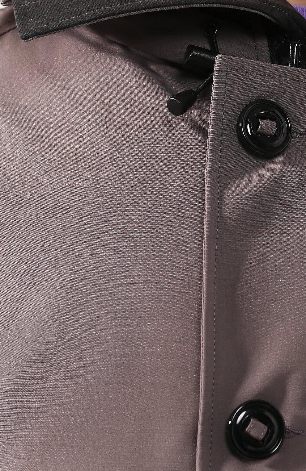 Мужская пуховая парка chateau с меховой отделкой CANADA GOOSE серого цвета, арт. 3426MB | Фото 5