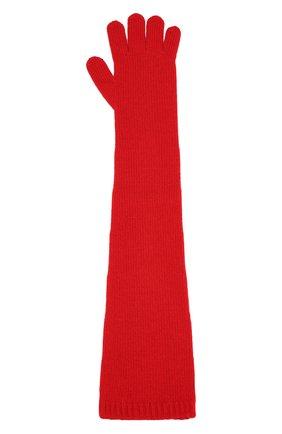 Женские перчатки valentino garavani из смеси шерсти и кашемира VALENTINO красного цвета, арт. SW2GC00D/PHS | Фото 2