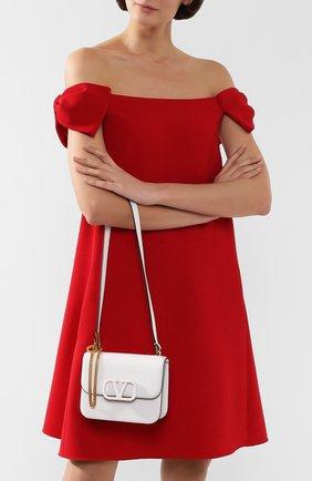 Женская сумка valentino garavani vsling small VALENTINO белого цвета, арт. TW2B0F01/RQR | Фото 2