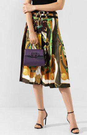 Женская сумка valentino garavani vsling small VALENTINO фиолетового цвета, арт. TW2B0F53/KGW | Фото 2