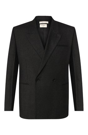 Мужской кашемировый пиджак BOTTEGA VENETA темно-серого цвета, арт. 600703/VKH90 | Фото 1