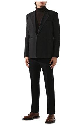 Мужской кашемировый пиджак BOTTEGA VENETA темно-серого цвета, арт. 600703/VKH90 | Фото 2
