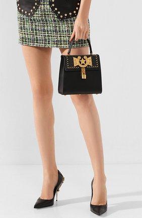 Женская сумка VERSACE черного цвета, арт. DBFG320/D6VBC | Фото 2