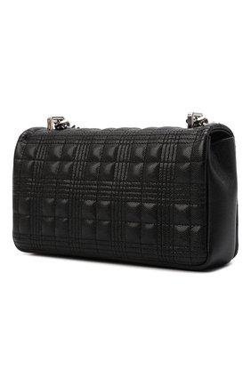 Женская сумка lola small BURBERRY черного цвета, арт. 8022599   Фото 4