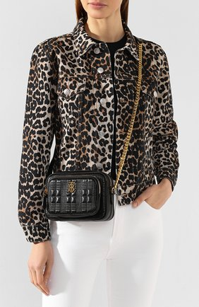 Женская сумка tb small BURBERRY черного цвета, арт. 8020757   Фото 2