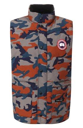 Мужской пуховый жилет freestyle crew CANADA GOOSE разноцветного цвета, арт. 4154MP | Фото 1