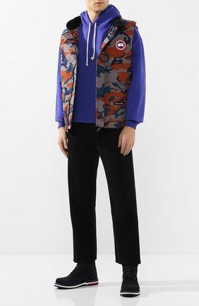 Мужской пуховый жилет freestyle crew CANADA GOOSE разноцветного цвета, арт. 4154MP | Фото 2