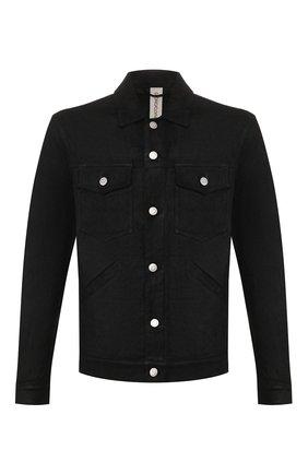 Мужская кожаная куртка GIORGIO BRATO черного цвета, арт. GU20S9002GRASS | Фото 1