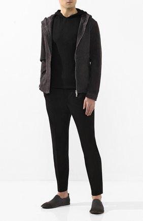 Мужская кожаная куртка GIORGIO BRATO черного цвета, арт. GU20S90050LDV | Фото 2