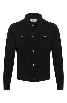 Мужская джинсовая куртка GIVENCHY черного цвета, арт. BM00BQ50C3 | Фото 1