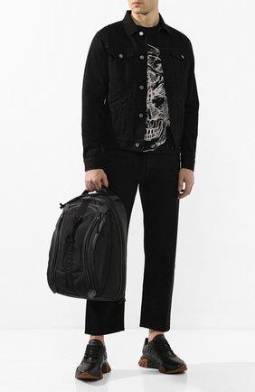 Мужская джинсовая куртка GIVENCHY черного цвета, арт. BM00BQ50C3 | Фото 2