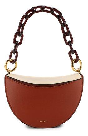 Женская сумка doris YUZEFI кремвого цвета, арт. YUZRS20-DR | Фото 1