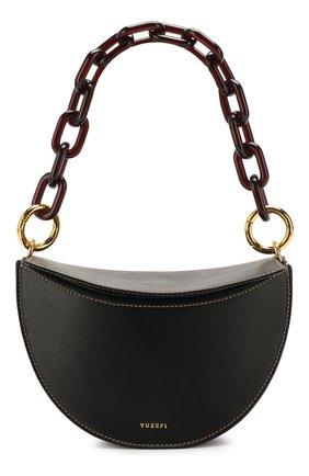 Женская сумка doris YUZEFI черного цвета, арт. YUZRS20-DR | Фото 1
