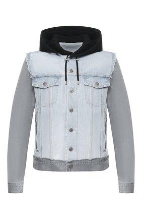Мужская джинсовая куртка BALMAIN разноцветного цвета, арт. TH18578/Z111 | Фото 1