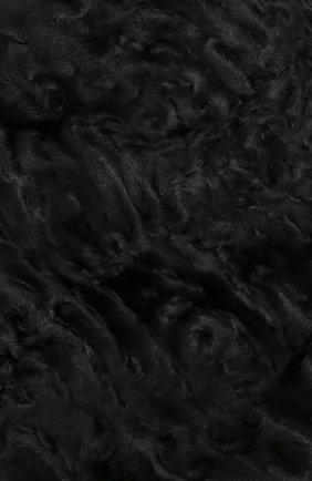 Женский берет из меха каракульчи FURLAND черного цвета, арт. 0013607810004200000 | Фото 3