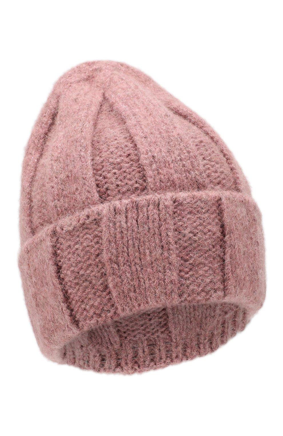 Женская шерстная шапка armel CANOE розового цвета, арт. 4923665   Фото 1