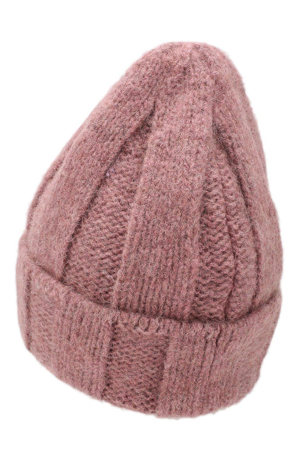 Женская шерстная шапка armel CANOE розового цвета, арт. 4923665   Фото 2