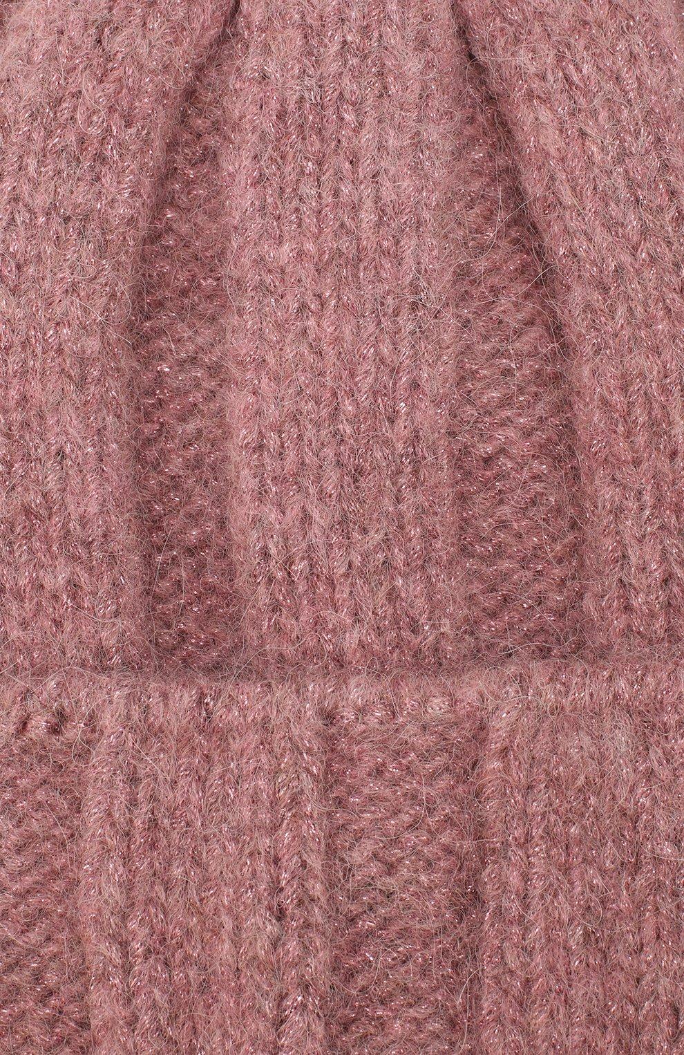 Женская шерстная шапка armel CANOE розового цвета, арт. 4923665   Фото 3