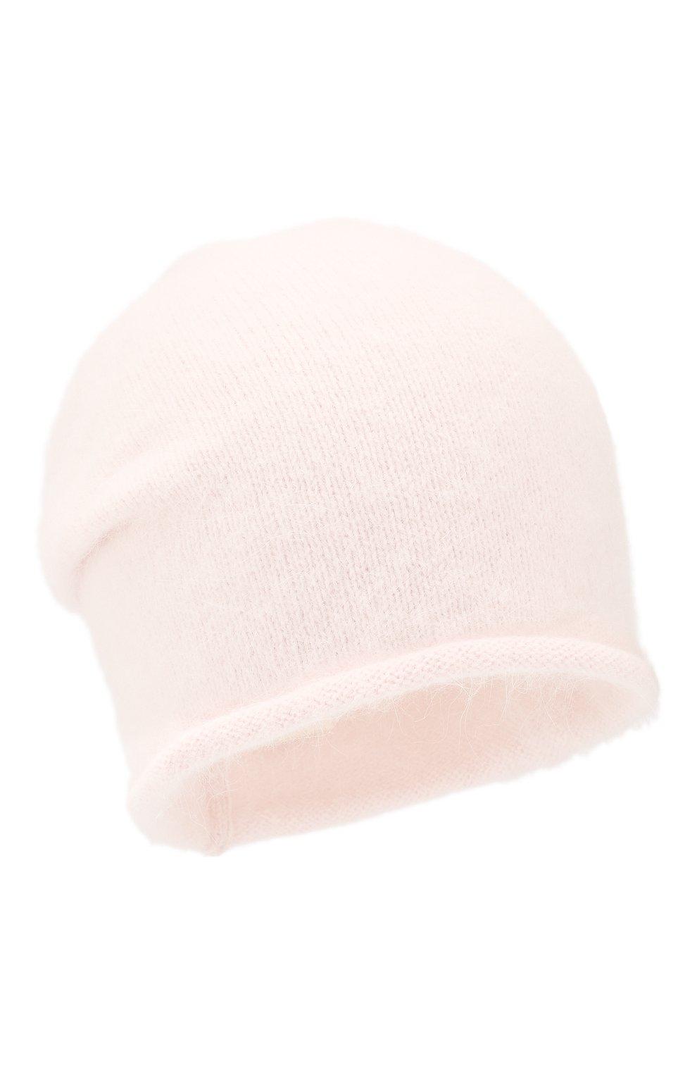 Женская шерстяная шапка rein CANOE светло-розового цвета, арт. 4920666 | Фото 1