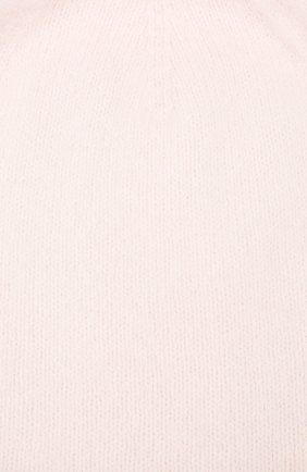 Женская шерстяная шапка rein CANOE светло-розового цвета, арт. 4920666 | Фото 3