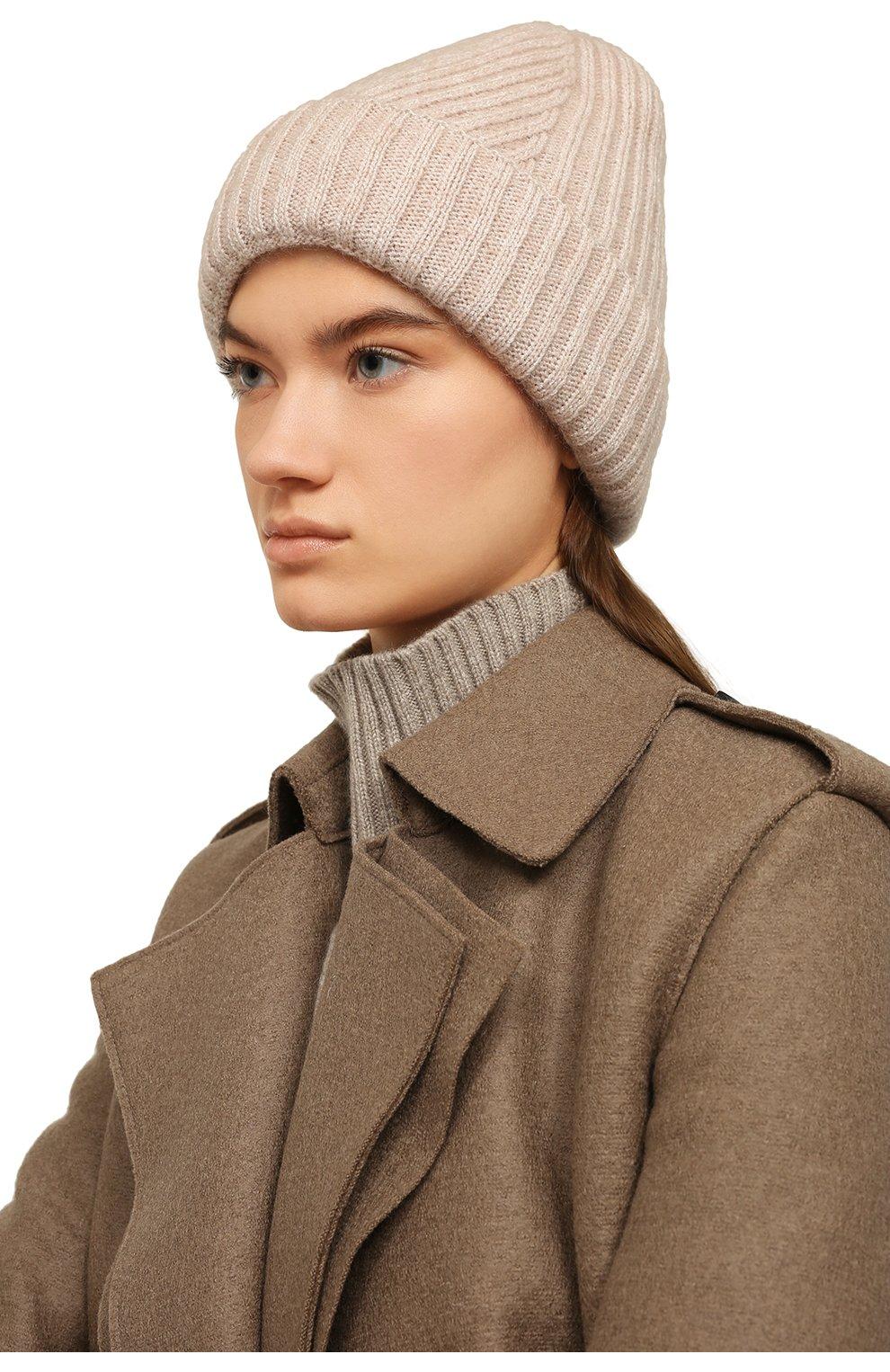 Женская шапка monica CANOE бежевого цвета, арт. 4918269 | Фото 2