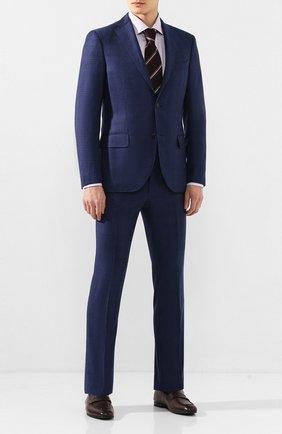 Мужская хлопковая сорочка ETON сиреневого цвета, арт. 1000 00531 | Фото 2