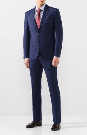 Мужская хлопковая сорочка CANALI голубого цвета, арт. N705/GR01839/S | Фото 2