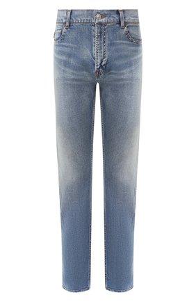 Мужские джинсы BALENCIAGA синего цвета, арт. 600382/THW23 | Фото 1