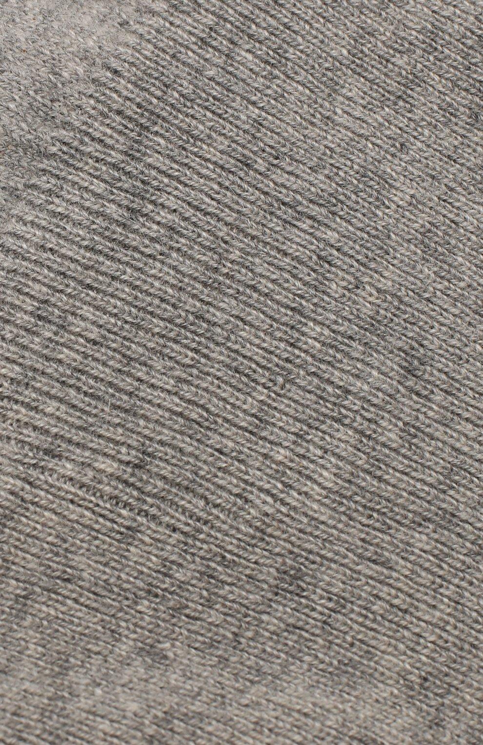 Детского кашемировая шапка-балаклава OSCAR ET VALENTINE серого цвета, арт. CAG 02 | Фото 3