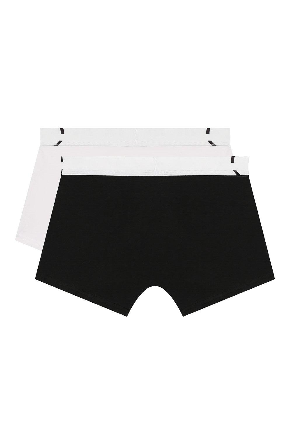Детские комплект из 2-х боксеров CALVIN KLEIN черно-белого цвета, арт. B70B700208   Фото 2