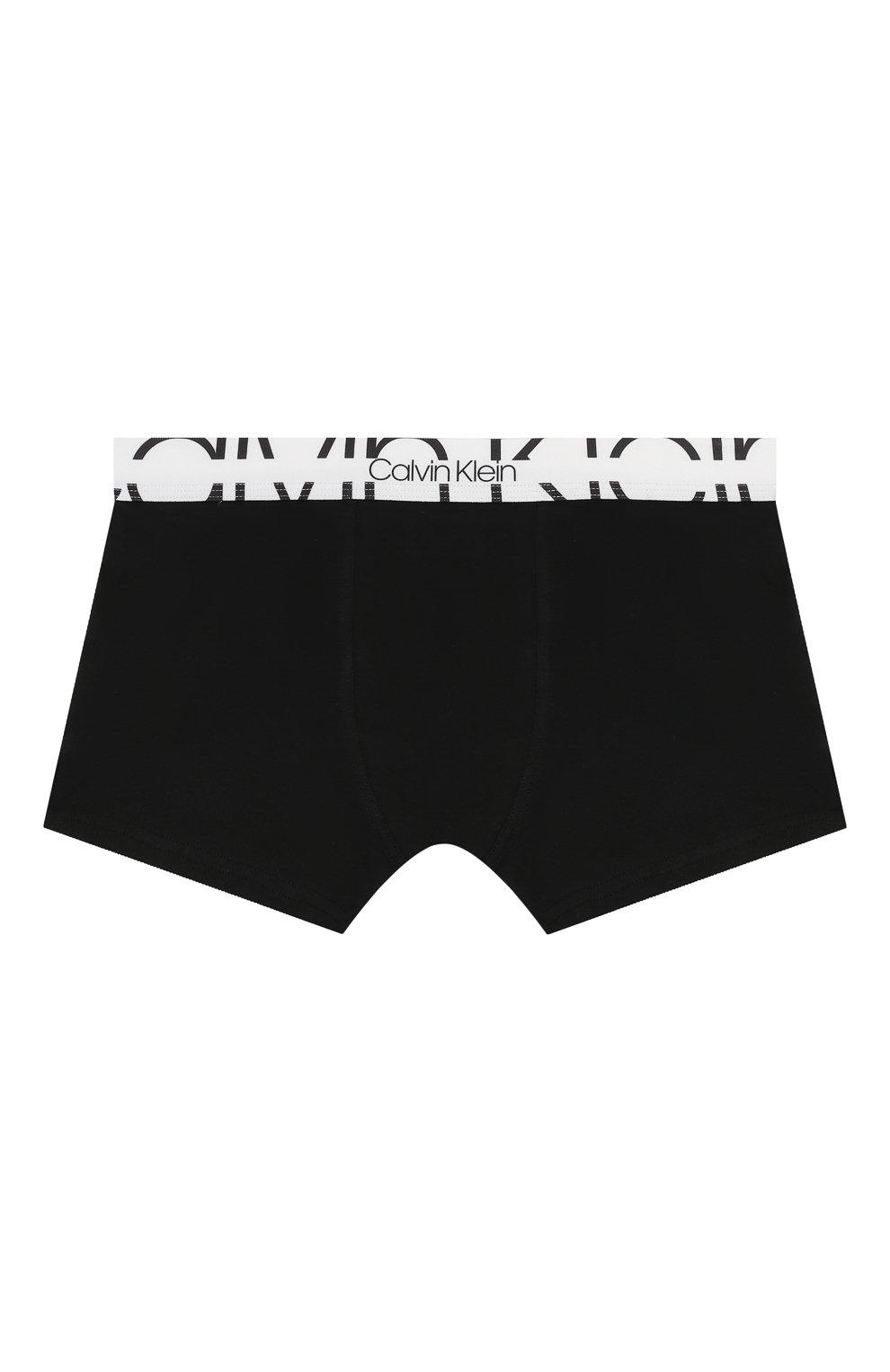 Детские комплект из 2-х боксеров CALVIN KLEIN черно-белого цвета, арт. B70B700208   Фото 5