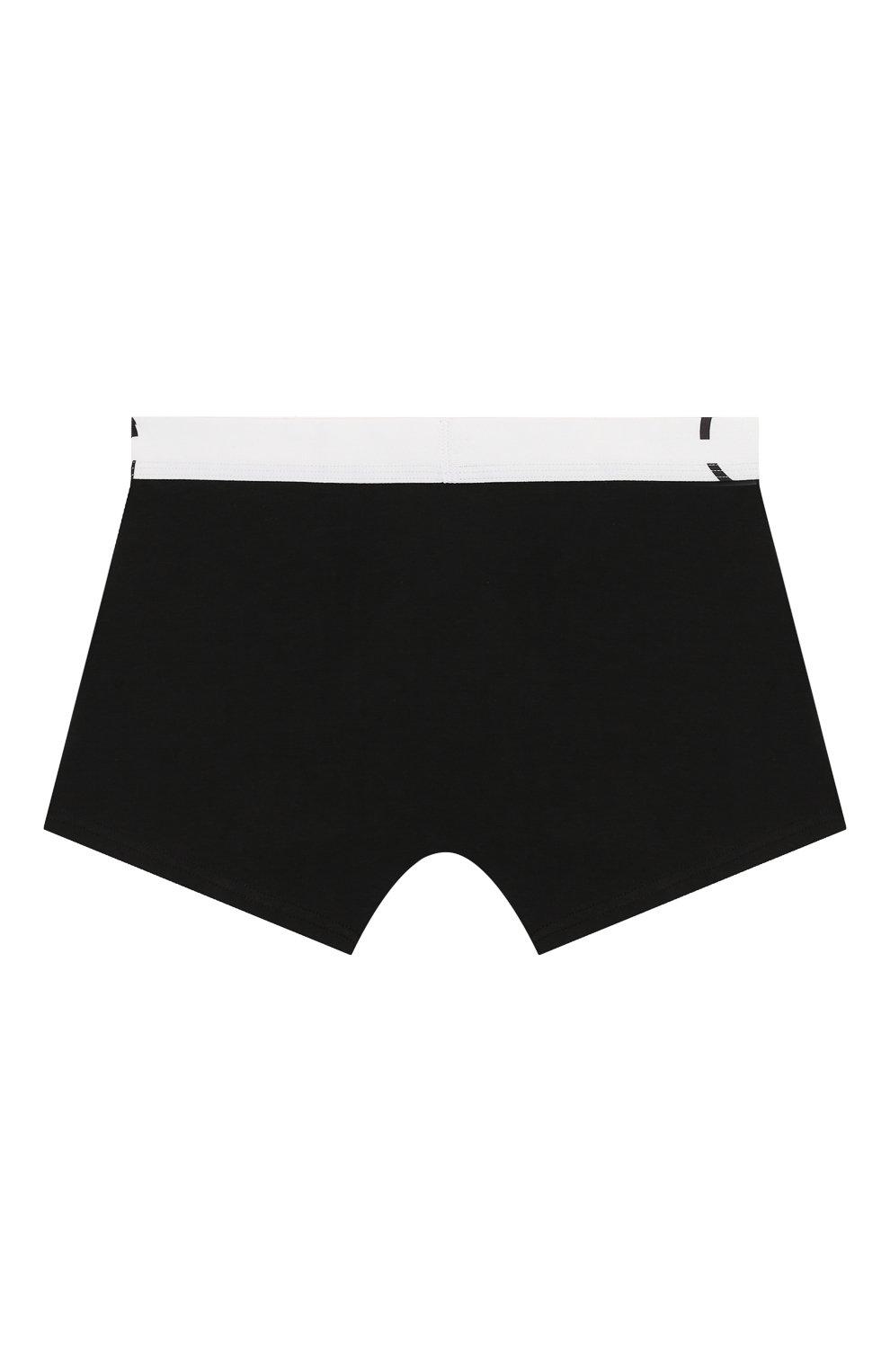 Детские комплект из 2-х боксеров CALVIN KLEIN черно-белого цвета, арт. B70B700208   Фото 6