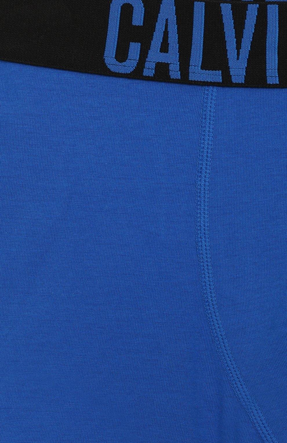 Детские комплект из 2-х боксеров CALVIN KLEIN синего цвета, арт. B70B700207 | Фото 7
