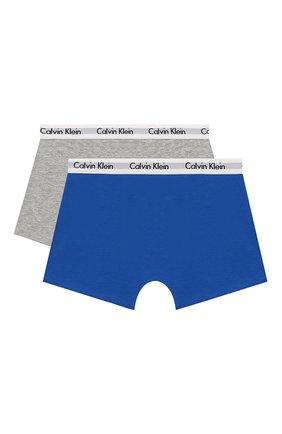 Детские комплект из 2-х боксеров CALVIN KLEIN синего цвета, арт. B70B700209 | Фото 2