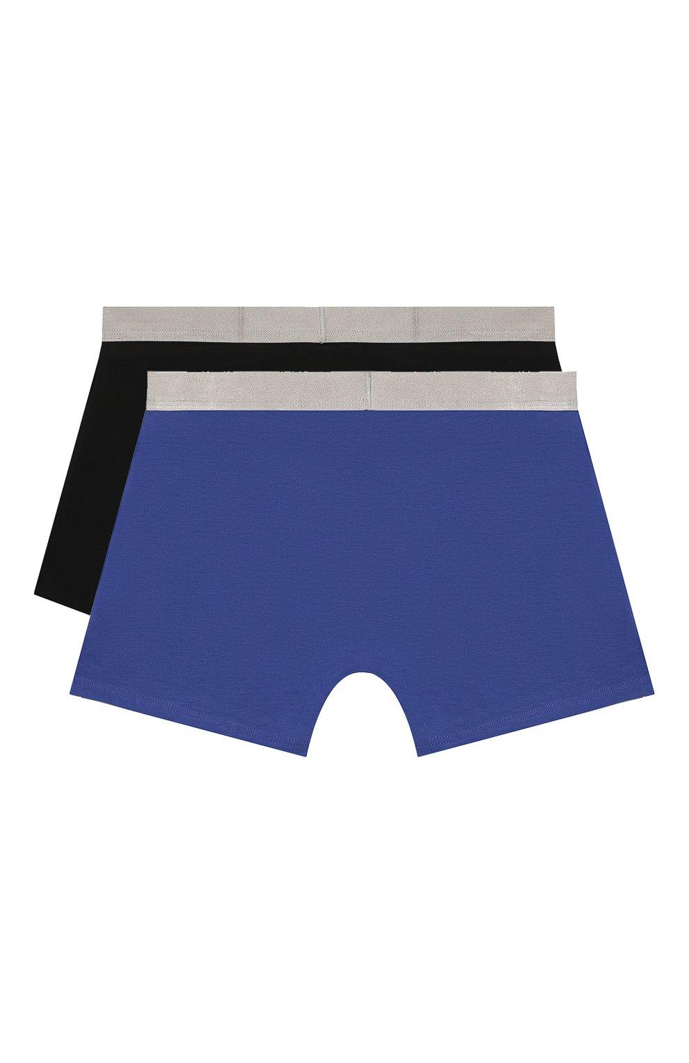 Детские комплект из 2-х боксеров CALVIN KLEIN синего цвета, арт. B70B700210 | Фото 2