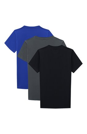 Детская комплект из 3-х футболок EMPORIO ARMANI разноцветного цвета, арт. 3H4D16/4J09Z | Фото 2