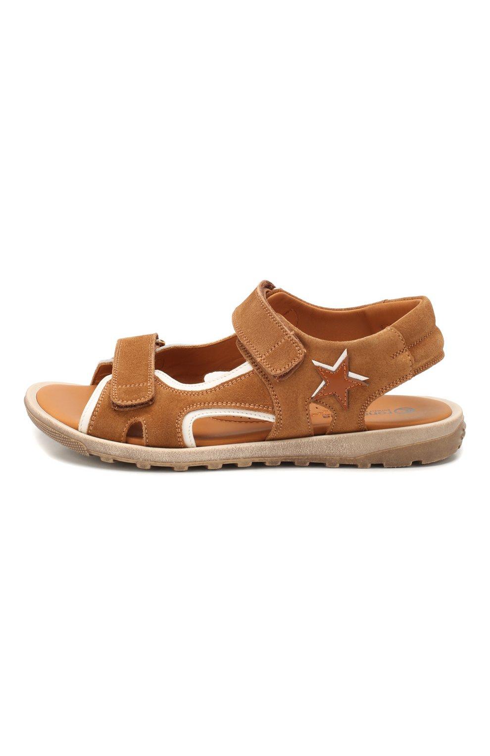 Замшевые сандалии   Фото №2