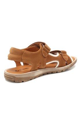 Замшевые сандалии   Фото №3